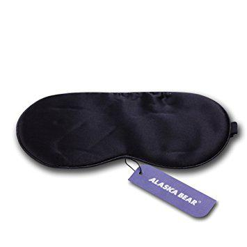 ALASKA BEAR Natural silk sleep mask & blindfold