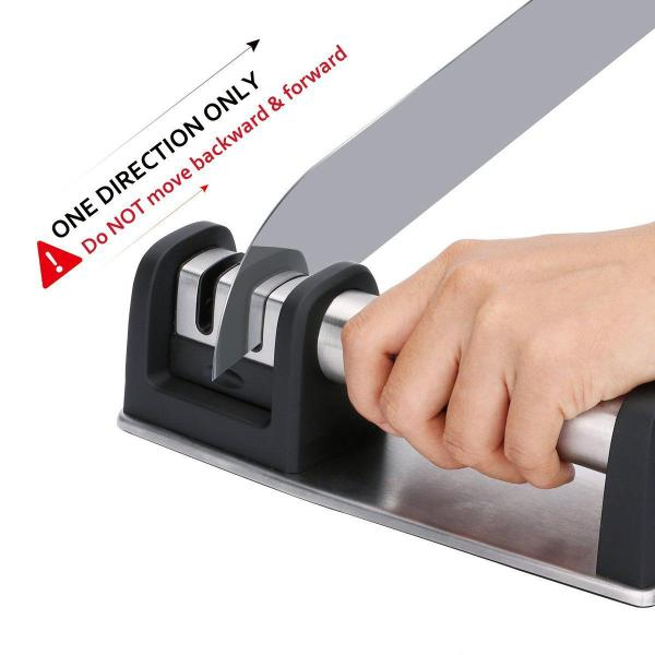Professional Knife Sharpener for Straight and Serrated Knives