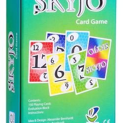 SKYJO a funny card game for kids and adults SKYJO, by Magilano – The ultimate card game for kids and adults. The ideal board game for funny, entertaining and exciting playing hours with friends and family.