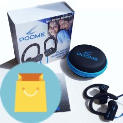 Bluetooth Headphones HD Stereo Noise Cancelling Waterproof
