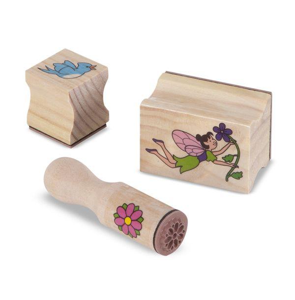 Melissa & Doug Stamp-a-Scene Stamp Pad Fairy Garden