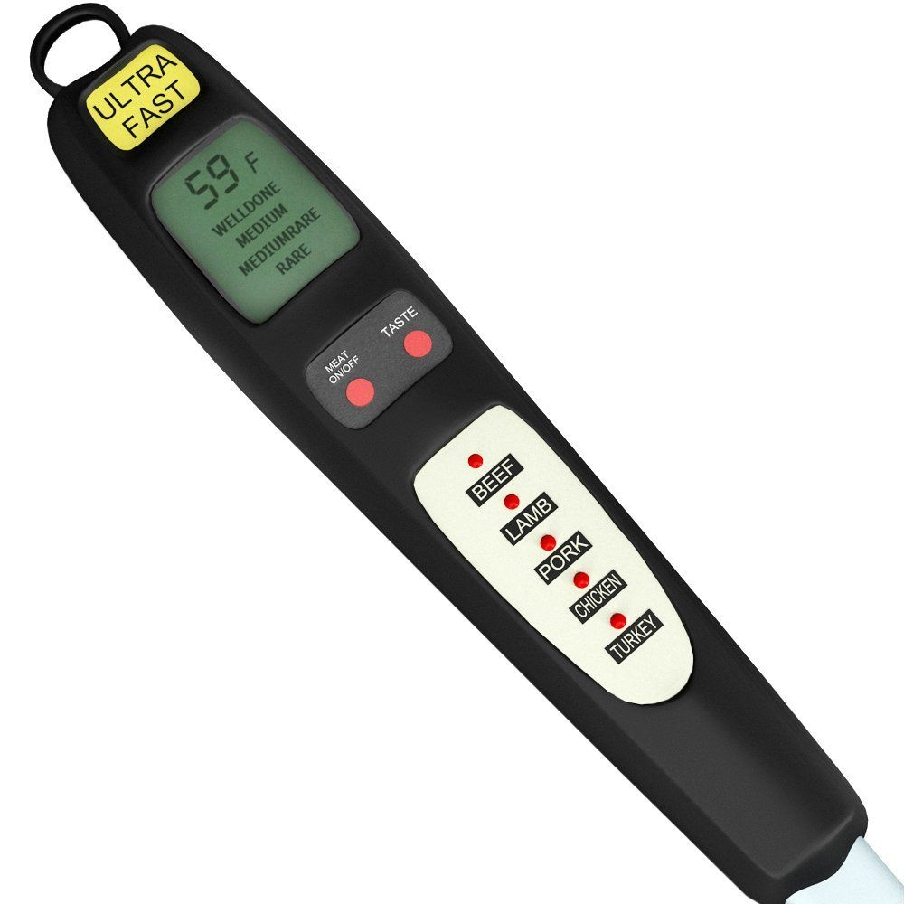 Dummies helps everyone be more knowledgeable and confident in applying what they know. Pre-Programmed Digital Meat Thermometer Best Offer Home ...