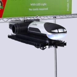 Primode Motorized Tie Rack With LED Lights