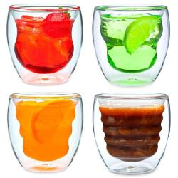 Artisan Series Double Wall Beverage Glasses and Tumblers