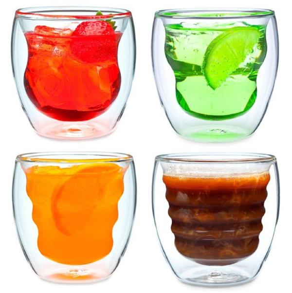Artisan Series Double Wall Beverage Glasses and Tumblers ...
