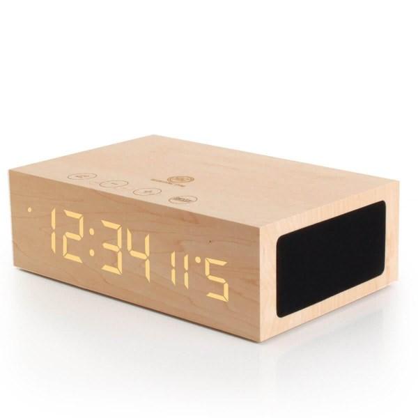 Bluetooth Digital Alarm Clock Speaker by GOgroove