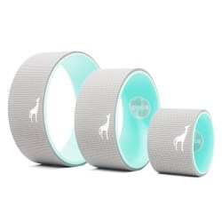 Body Yoga Wheel - Perfect Yoga Wheel For All Fitness Needs Body Yoga Wheel - Perfect Yoga Wheel For All Fitness Needs, Great for Classes Or In-Home Use - Optimal Back Roller For Back Pain Relief - Made by Plexus Co. In the USA (6 inch)