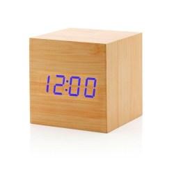 GEARONIC TM Wooden Alarm Clock