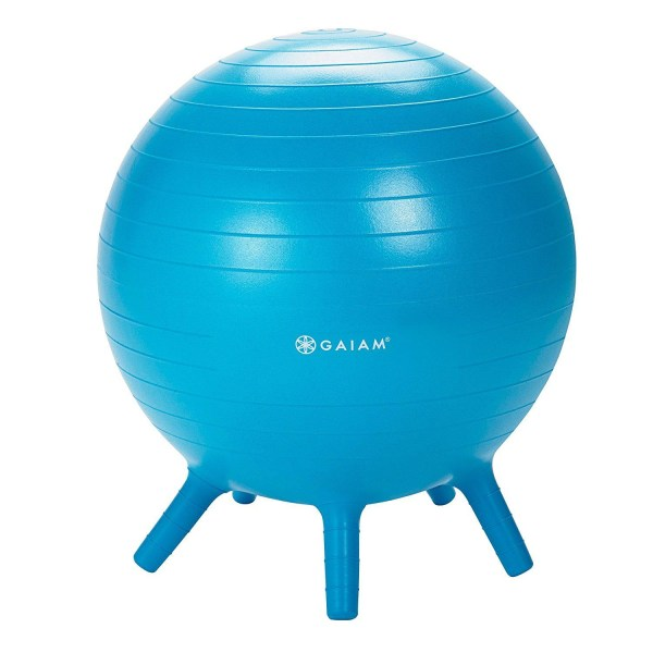 Gaiam Kids Stay-N-Play Children's Inflatable Balance Ball