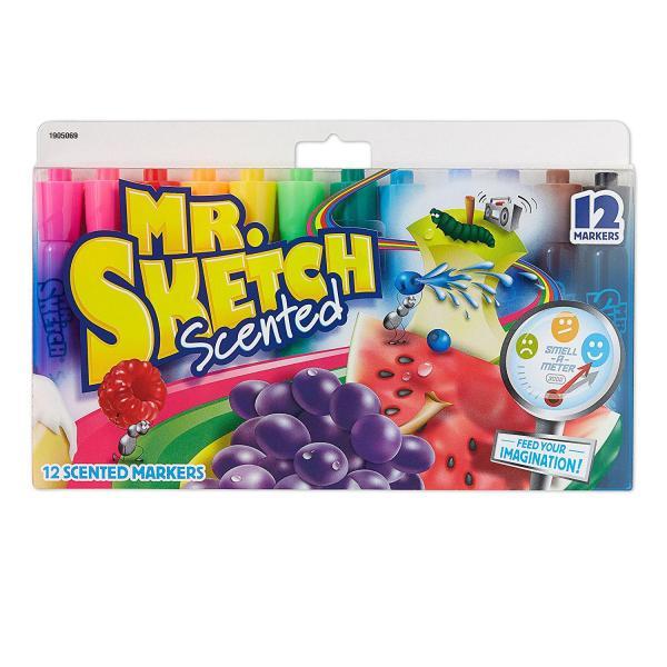 Mr. Sketch Scented Markers, Chisel Tip