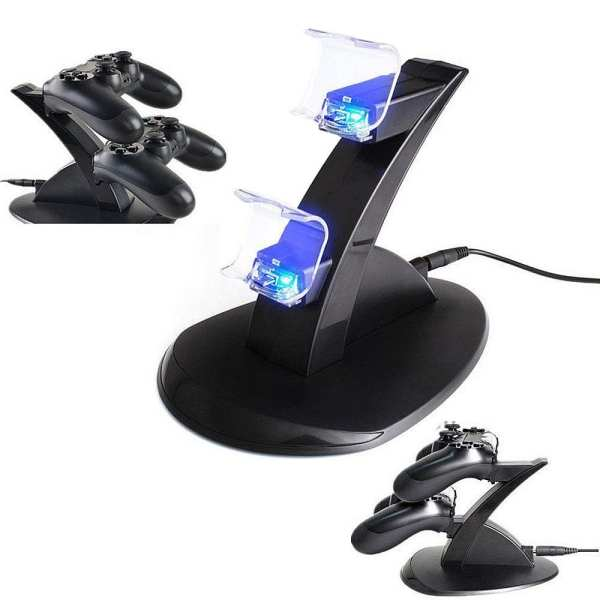 Dual Dock Stand For Sony PS4 Controller