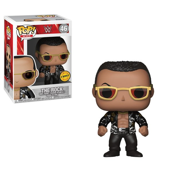Funko Pop Wwe-the Rock Old School Collectible Toy