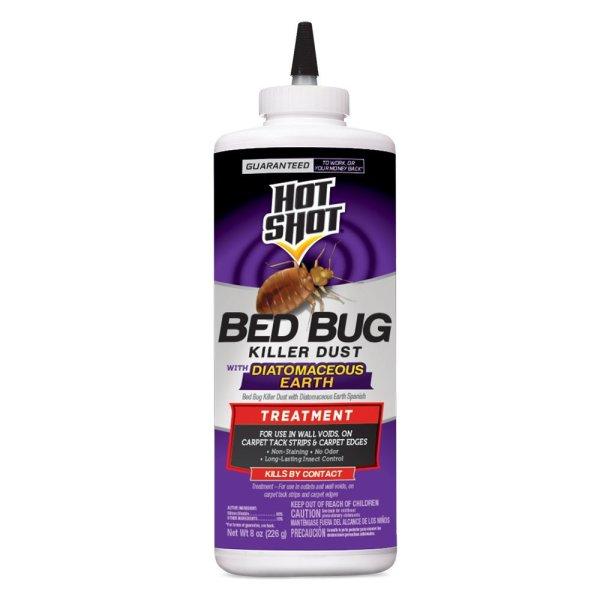 Hot Shot 8 oz Bed Bug Killer Powder