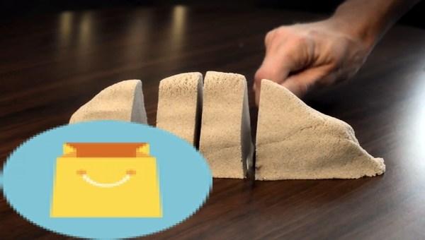 Kinetic Sand 2 pound Brown