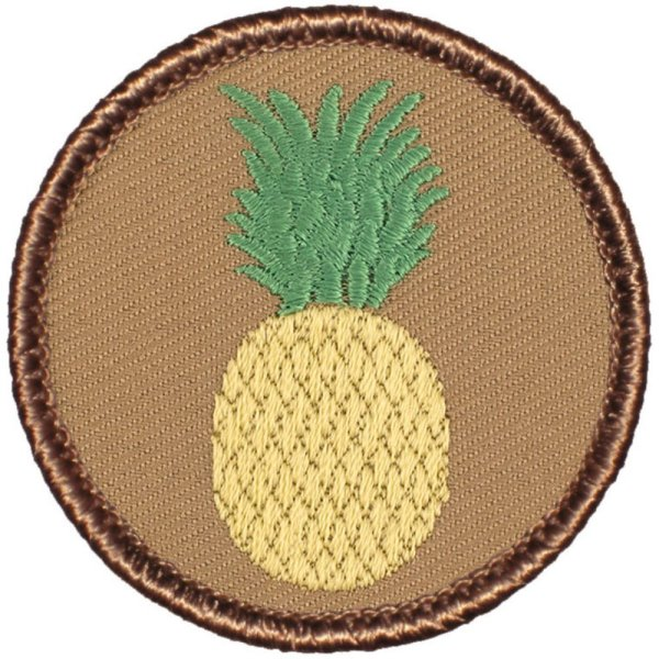 Pineapple Patrol Patch - Round!