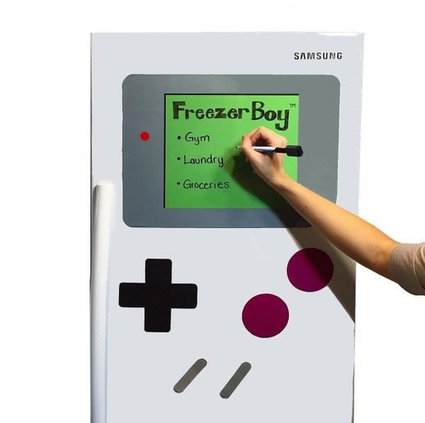 Refrigerator Magnets, Dry-Erase Whiteboard Set