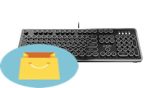 Retro USB Typewriter Inspired Mechanical Keyboard
