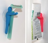 Toothbrush Holder & Utility Suction Hook Best Offer
