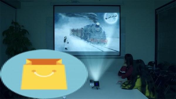 WZATCO Smart WIFI Pocket Projector