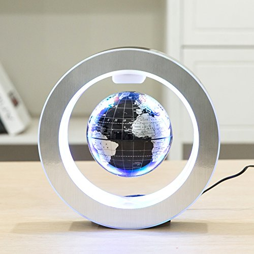 YANGHX Floating Globe World Map 4inch