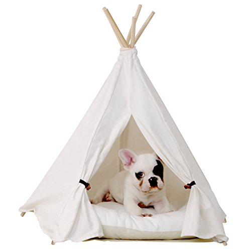 Little dove Pet Teepee Dog(Puppy) & Cat Bed