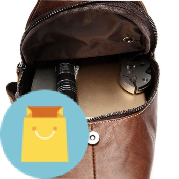 Crossbody men casual messenger bag