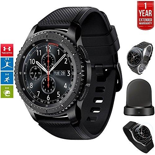 Samsung Gear S3 Frontier Bluetooth Watch with Built-in GPS Dark Gray