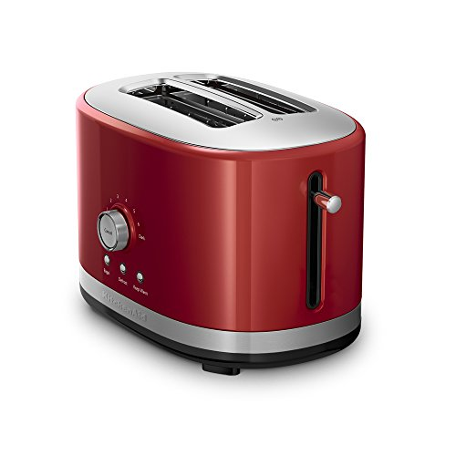 KitchenAid 2 Slice Slot Toaster with High Lift Lever, Empire Red