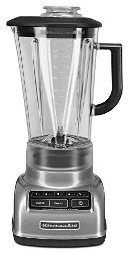 KitchenAid 5-Speed Diamond Blender with 60-Ounce BPA-Free Pitcher - Contour Silver