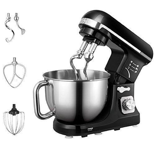 ilt-Head Food Mixer Kitchen Electric Mixer with Double Dough Hooks