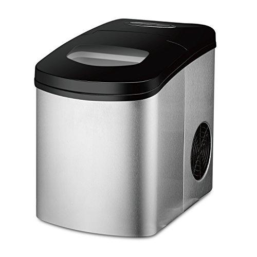 Flexzion Ice Maker Machine For Countertop