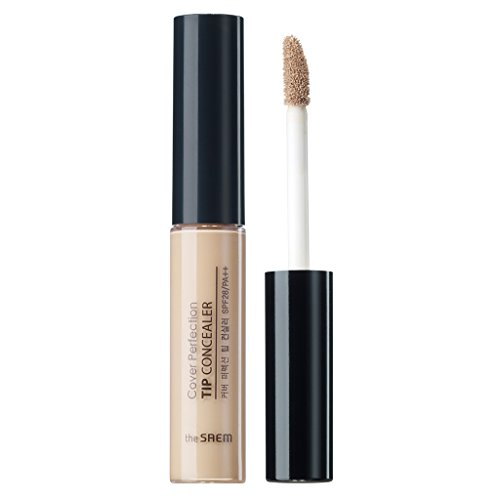 [the SAEM] Cover Perfection Tip Concealer SPF28/PA++ 6.5g #1 Clear Beige