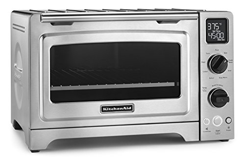 """KitchenAid 12"""" Convection Bake Digital Countertop Oven - Stainless Steel"""