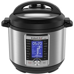 Instant Pot Ultra 6 Qt 10-in-1 Multi- Use Programmable Pressure Cooker, Slow Cooker, Rice Cooker