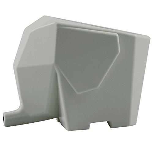 Cute Elephant Design Plastic Cutlery Drainer Storage Holder Box