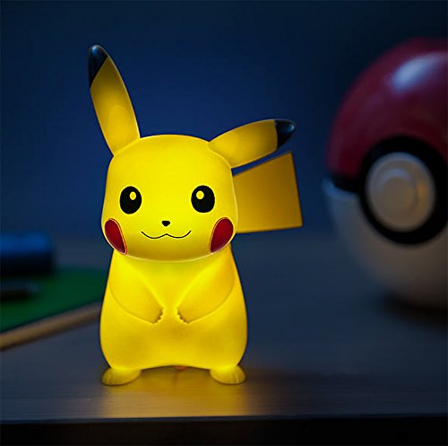 Pokemon 7-Inch Light-Up Pikachu Lamp