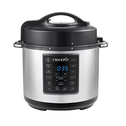 Express Crock Programmable Slow Cooker, Pressure Cooker, Sauté, and Steamer