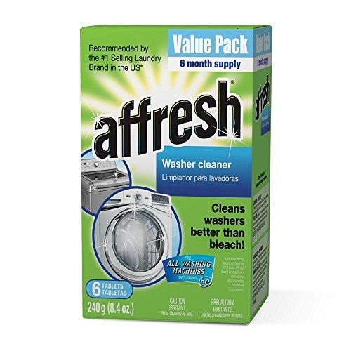 Affresh Washer Machine Cleaner, 6-Tablets, 8.4 oz - Pack of 3