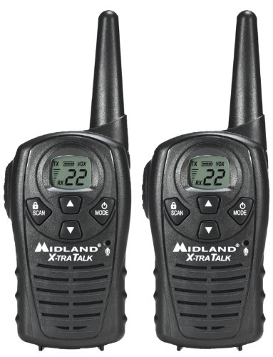 Midland 22-Channel GMRS with 18-Mile Range