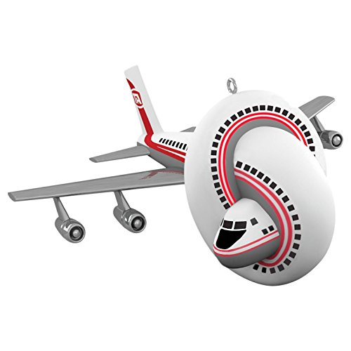 Hallmark Keepsake 2017 Airplane! the Movie Sound Christmas Ornament