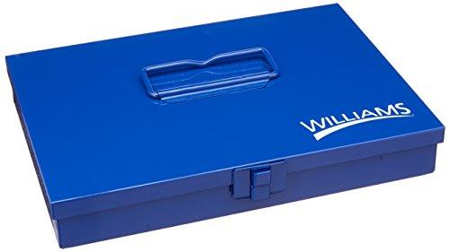 Williams 10-Inch Metal Socket Set Toolbox
