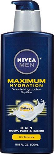 NIVEA Men Maximum Hydration 3 in 1 Nourishing Lotion