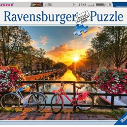 Ravensburger -Bicycles in Amsterdam - 1000 pc Puzzle