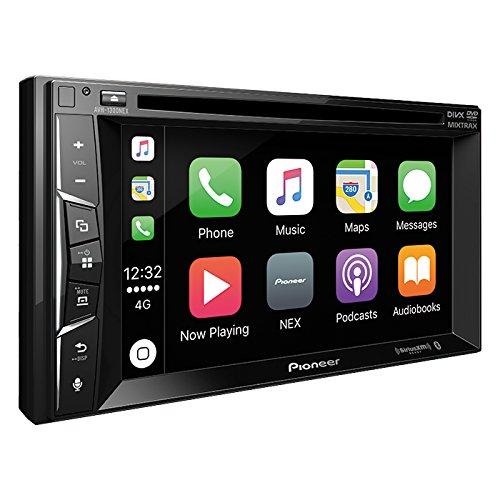 "Pioneer Multimedia DVD Receiver with 6.2"" WVGA Display/Apple CarPlay/Built-in Bluetooth/SiriusXM-Ready/AppRadio Mode +"