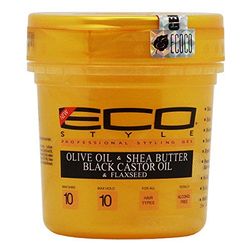 Eco Style Gold - Olive Oil, Shea Butter and Black Castor