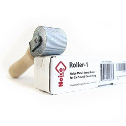 Noico Metal Barrel Roller Installation Tool for Automotive Sound Deadening Insulation Materials for Cars & Truck