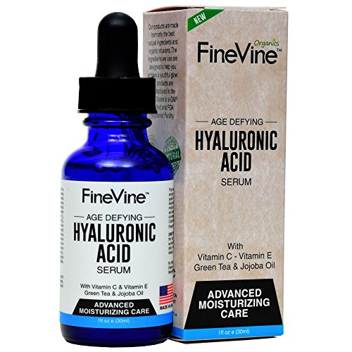 Hyaluronic Acid Serum for Skin - Made in USA - Anti-Aging Serum