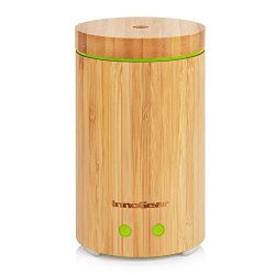 InnoGear Real Bamboo Essential Oil Diffuser Ultrasonic Aromatherapy