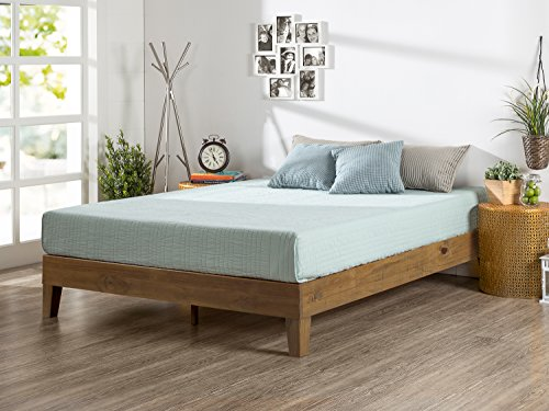 Zinus 12 Inch Deluxe Wood Platform Bed, No Boxspring Needed