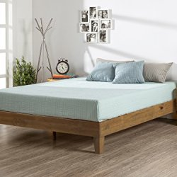 Zinus 12 Inch Deluxe Wood Platform Bed, No Boxspring Needed